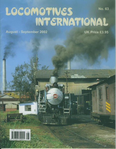Heft Locomotives International 63