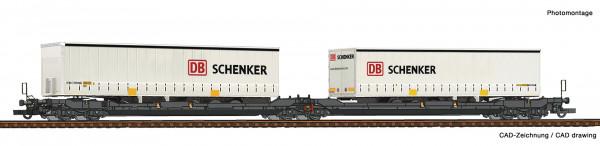 H0 Doppeltaschenwagen T3000e Kombi-VK Ep.6 +Cont. Schenker