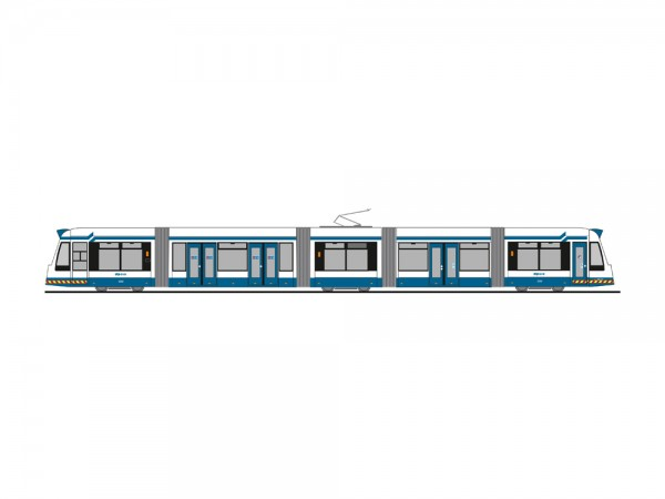 87 Strab Siemens-Combino 'GVB-Amsterdam' NH2020(05)