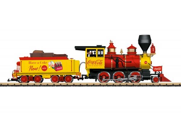 G US-Dampflok Mogul 'Coca-Cola' RC+SOUND NH2020