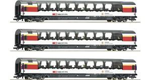 "H0 ""Gotthard Panorama Express"" Set 1, 3-tlg, SBB, Ep.6, DC"
