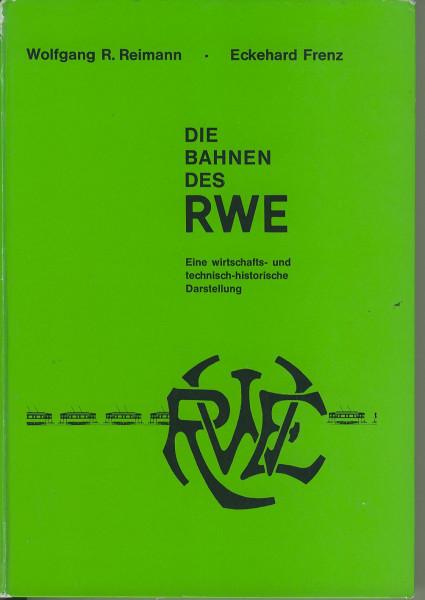 Buch Die Bahnen des RWE