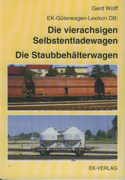 Buch Die vierachsigen Selbstentladewagen - Die Staubbehälterwagen