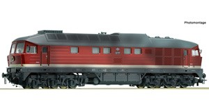 H0 Diesellokomotive BR 132, DR, Ep.4, DCC SOUND