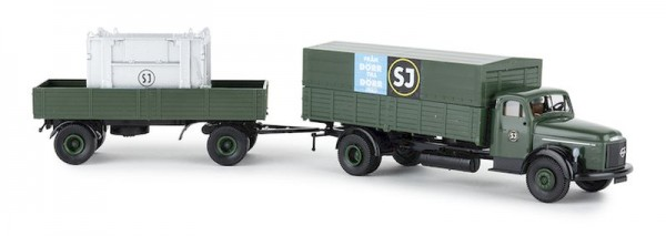 "87 Volvo N 88 ""SJ"" mit Container (SE) NH02/20"""