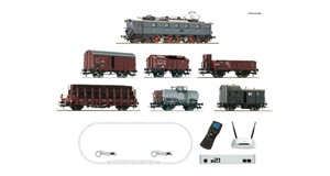 H0 z21 Digitalset: Elektrolokomotive E 52 mit Güterzug, DRG, Ep.2, DCC SOUND