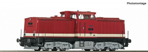 H0 Diesellok BR 114.298 DR Ep.IV braunrot WS-SOUND