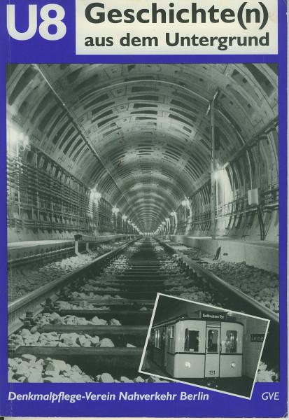 Buch U8 Geschichte(n) aus dem Untergrund