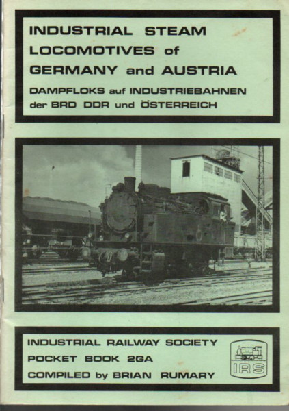 Buch Industrial Steam Locomotives of Germany and Austria