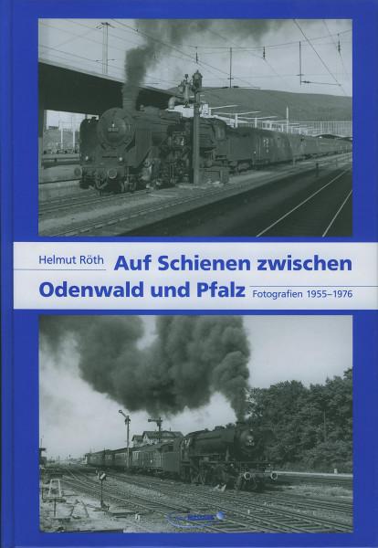 Buch Auf Schienen zwischen Odenwald und Pfalz