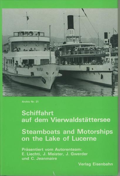 Buch Schiffahrt auf dem Vierwaldstättersee - Geschichte und Schiffregister