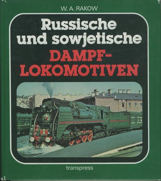 Buch Russische und sowjetische Dampf-Lokomotiven