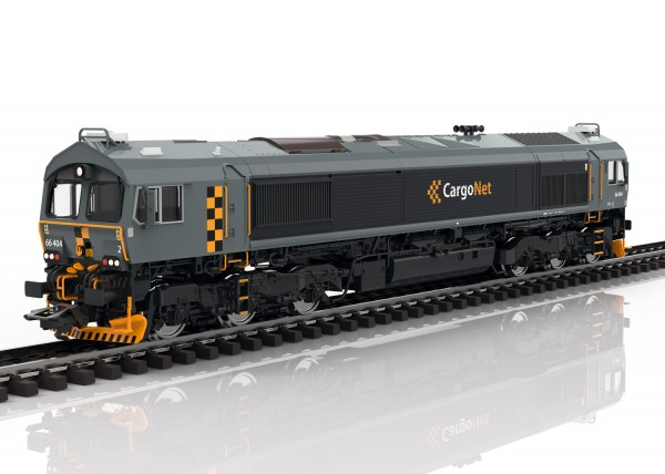 H0 Diesellok Class-66 CargoNet(N) SOUND NH2020