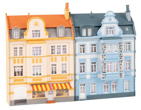 H0 Stadt-Reliefhäuser 3-stöckig NH10/2020