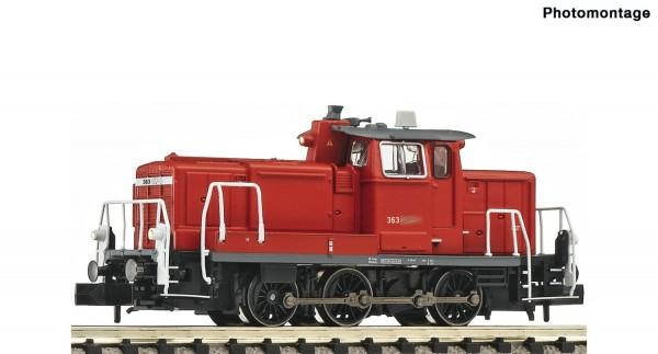 N Diesellokomotive BR 363 DBAG Ep.6 verkehrsrot DIGITAL