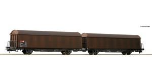 H0 Doppel-Schiebenwandwageneinheit, SBB, Ep.6, DC