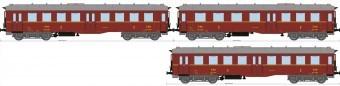 TT Altenburgerwagen-Set/4-a. DR-3 3-tg Neuauflage zu 2021