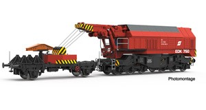 H0 Digital-Eisenbahndrehkran EDK 750, ÖBB, Ep.4-5, DCC SOUND