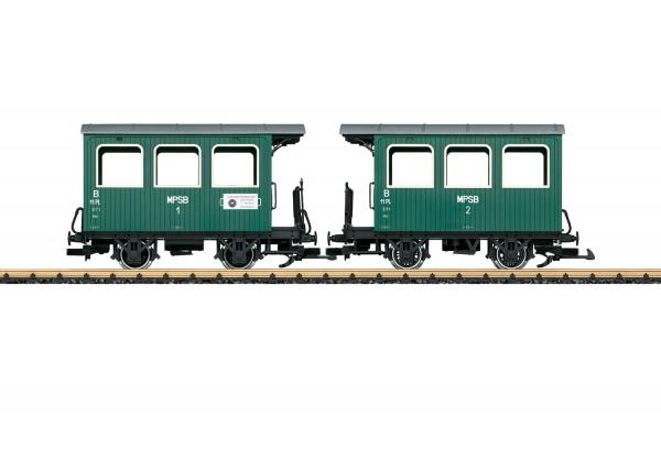 G Feldbahn-Personenwagen-Paar MPSB-6 NH03/20