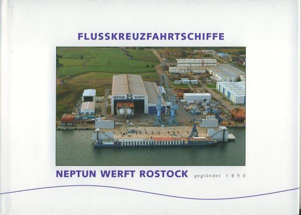 Buch Flusskreuzfahrtschiffe - Neptun Werft Rostock gegründet 1850