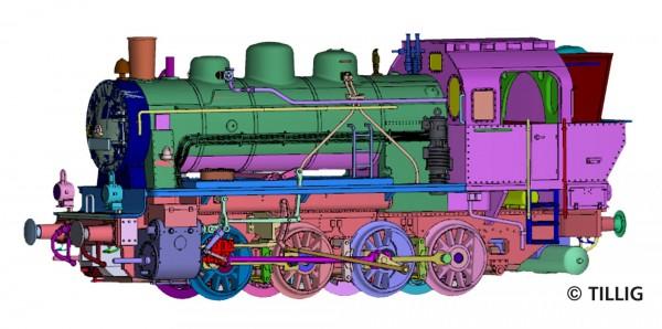 H0 Dampflok BR.TKp.30-1(ELNA) PKP-2