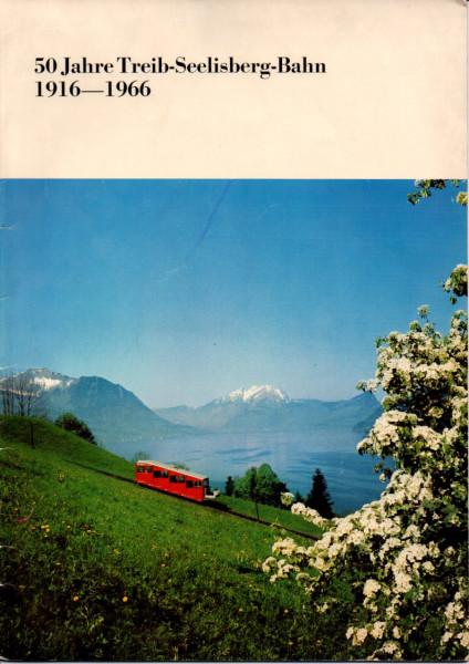Buch 50 Jahre Treib-Seelisberg-Bahn 1916-1966