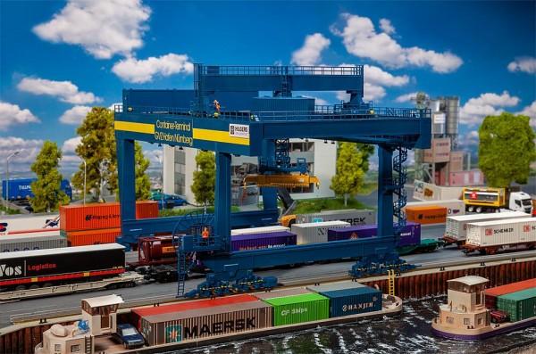 H0 Containerbrücke 'GVZ Hafen Nürnberg' NH2020(06)