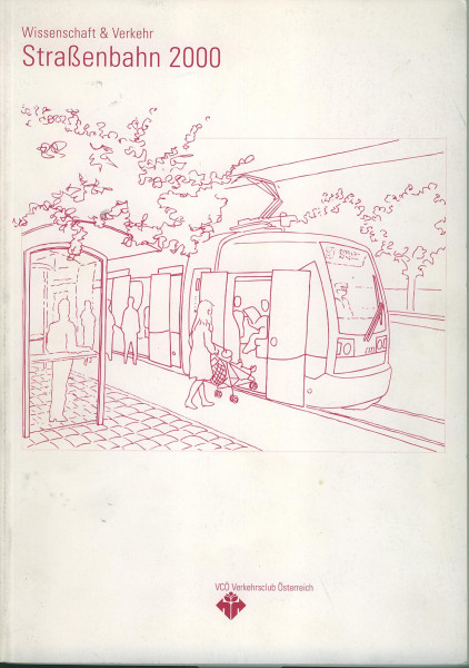 Buch Straßenbahn 2000 - Wissenschaft und Verkehr