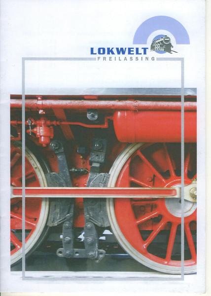 Buch Lokwelt Freilassing