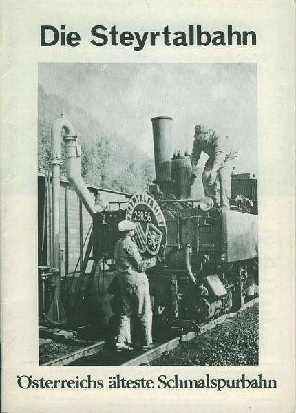 Buch Die Steyrtalbahn - 85 Jahre - Österreichs älteste Schmalspurbahn