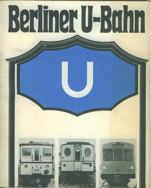 Buch Berliner U-Bahn