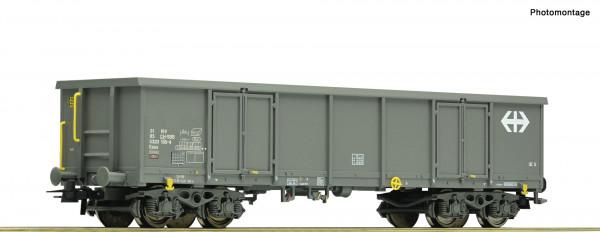 H0 Güterwagen/4-achs. offen Eaos SBB Ep.VI grau
