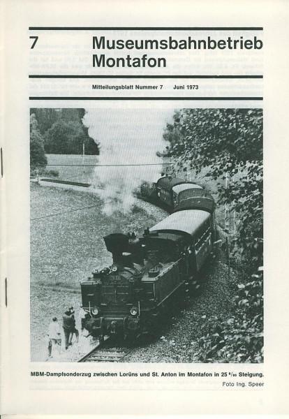 Buch Museumsbahnbetrieb Montafon No. 7 - Titelthema: Motorturmwagen X10.902