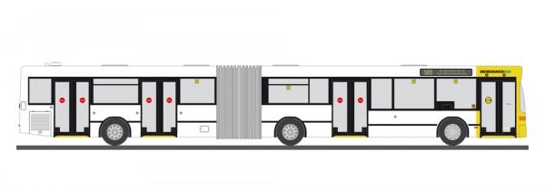 87 MB O405/GN2 'Bremerhavenbus' NH2020(01)