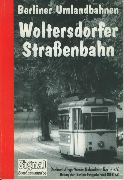 Buch Woltersdorfer Straßenbahn - Berliner Umlandbahnen