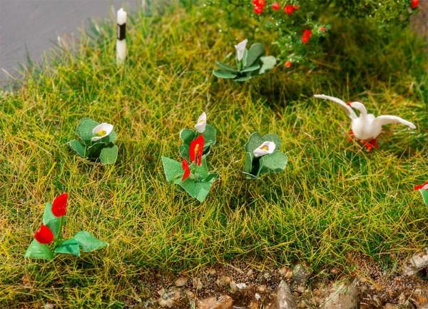 H0 Lilien 18-Stück