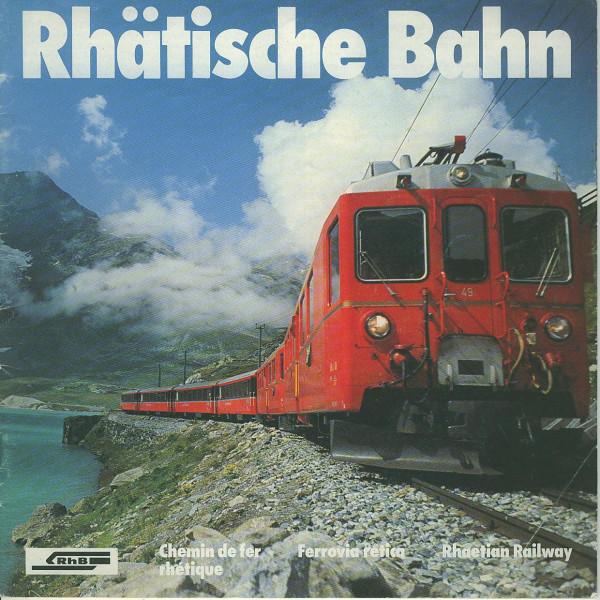 Buch Rhätische Bahn - Chemin de fer Rhetique
