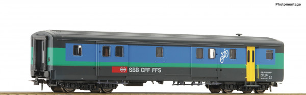H0 EW-II-Gepäckwagen SBB Ep.5/6