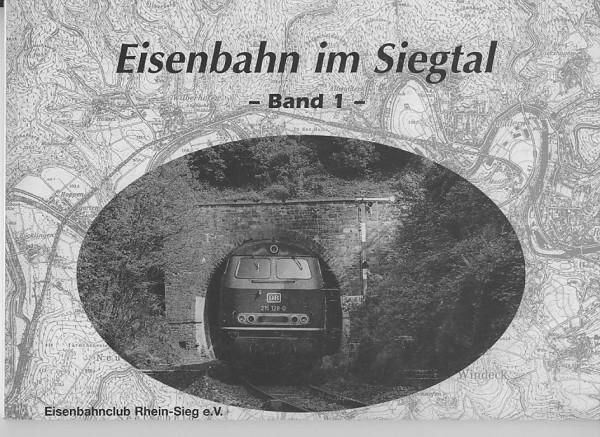 Buch Eisenbahn im Siegtal - Band 1