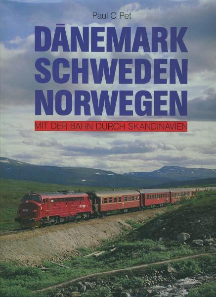 Buch Dänemark Schweden Norwegen - Mit der Bahn durch Skandinavien