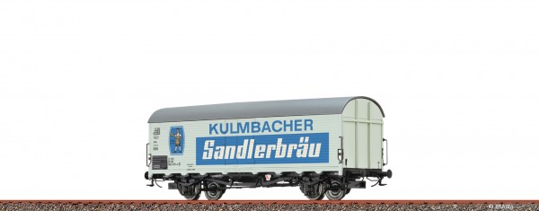 H0 Kühlwagen Ibdlps 383 DB, IV, Kulmbacher Sandlerbräu