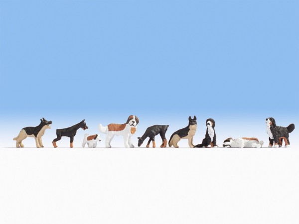 H0 Hunde + Soundmodul NH2020