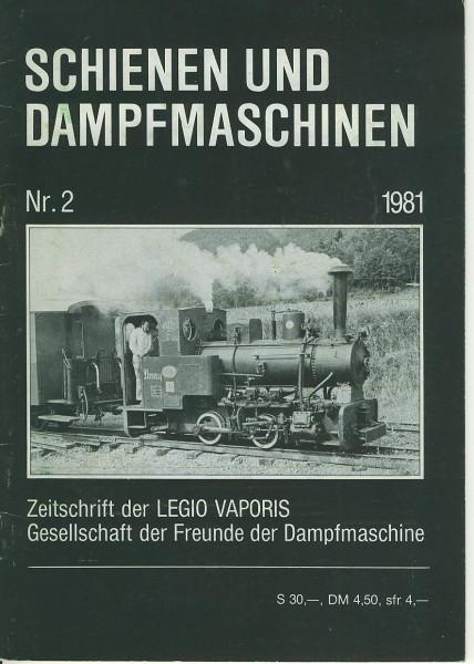 Kom: Schienen und Dampfmaschinen 1981/2