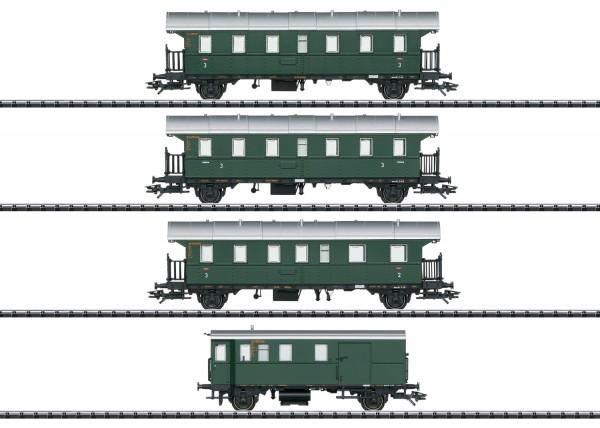 H0 Donnerbüchsen-Set DB-3 4-tlg. NH2020