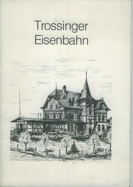 Buch Trossinger Eisenbahn