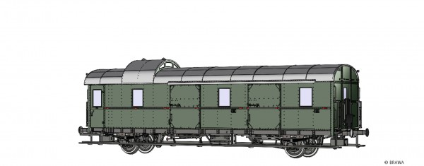 H0 Personenwagen Pwi 28 DRG, II