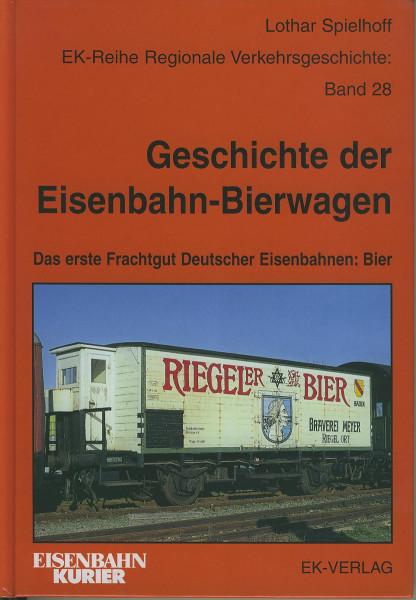 Buch Geschichte der Eisenbahn-Bierwagen