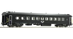H0 Reisezugwagen 2. Klasse, SJ, Ep.6, DC