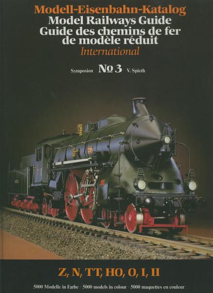 Buch Modell-Eisenbahn-Katalog Symposion 3: Z, N, TT, HO, O, I, II