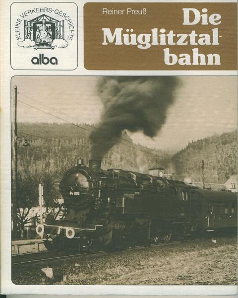 Buch Die Müglitztalbahn